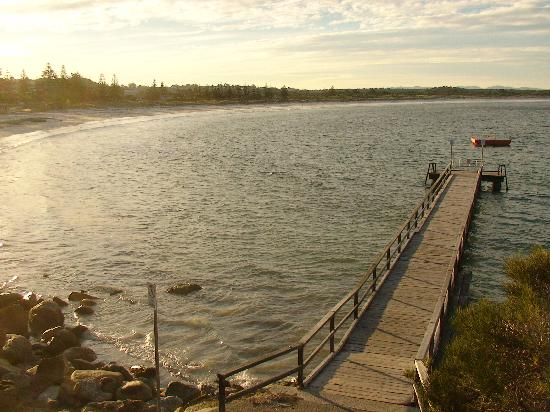 Saltair B & B: beautiful Ellen Cove Jetty