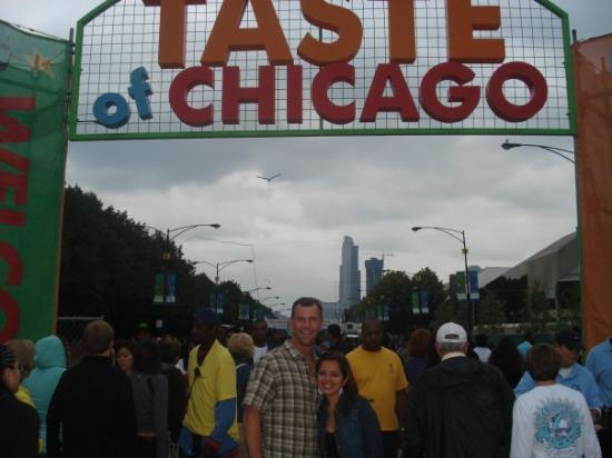 Taste of Chicago. MMMM Las Tablas Restaurant was the best!!!