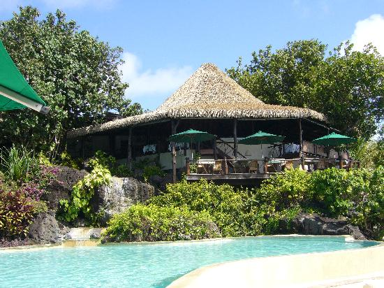 Pacific Resort, Aitutaki - Rapae Bay Restaurant