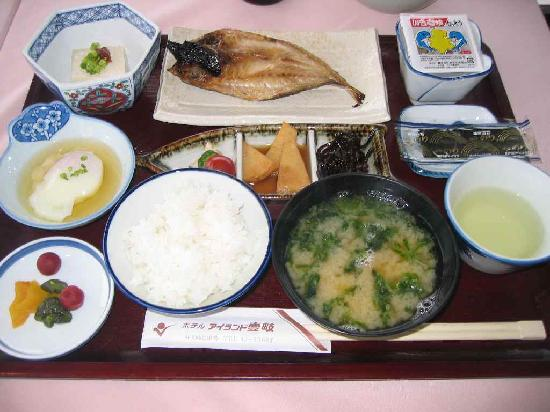 Hotel Island Iki : 朝食