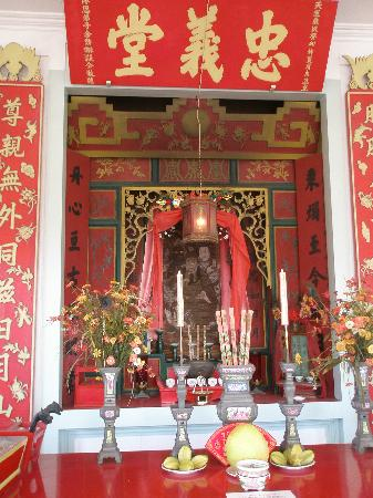Wo Hing Temple Museum : Temple at the Wo Hing Museum