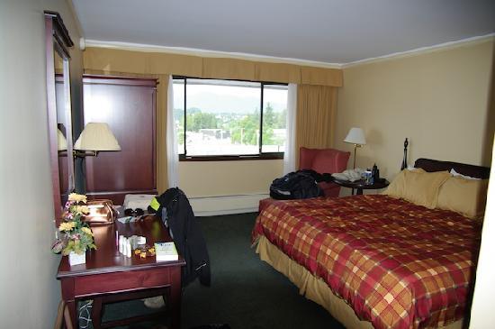 Crest Hotel: La chambre