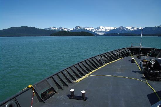 Alaska Marine Highway System - Day Cruises : Le long du passage intérieur