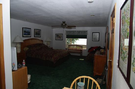 Lynn View Lodge & Cabins: La chambre