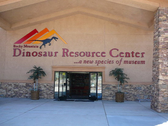Rocky Mountain Dinosaur Resource Center : The Front Entrance