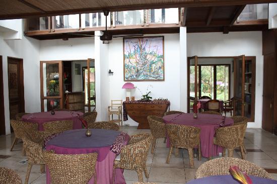 d'Omah Hotel Bali: salle à manger