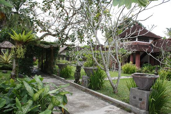 Ubud Villas and Spa: jardin