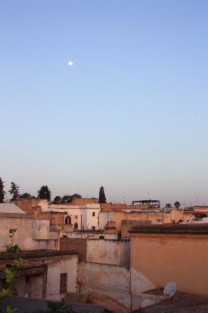 Riad Sara: view over medina from roof terrace