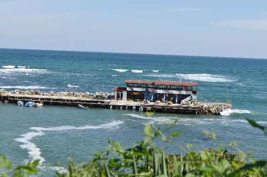 Nessebar, Bulgaristan: the fish house, looks can be decieving
