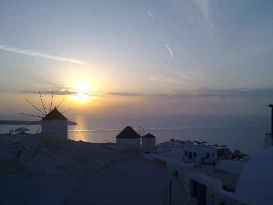 Perissa, Griechenland: Sunset at Oia