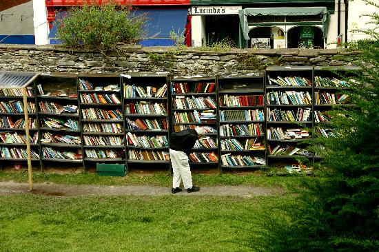 Rest for the Tired: Outdoor books - honor pay system