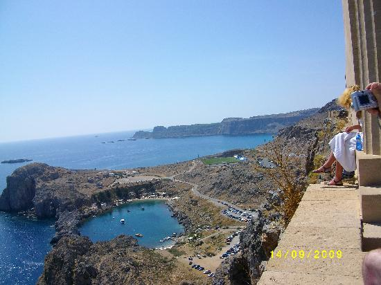 Ladiko, Greece: Lindos-Bucht