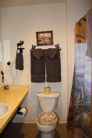 Woodsman Country Lodge: Bathroom