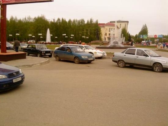 Carte de Syktyvkar - Htels et activits sur le plan de