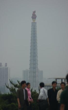 Tower of the Juche Idea: Juche tower/ Juche kulesi Pyongyang