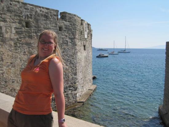 Bodrum Museum of Underwater Archaeology: schoon zicht he daar op die toren