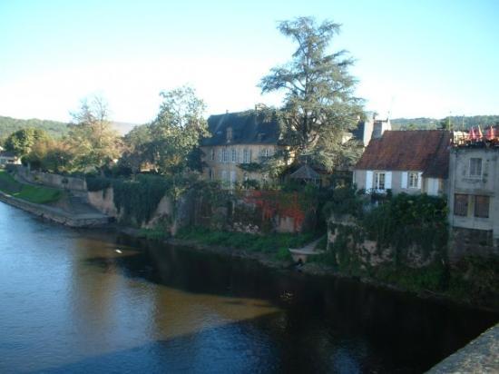 Lascaux, France : la campagne en dordogne