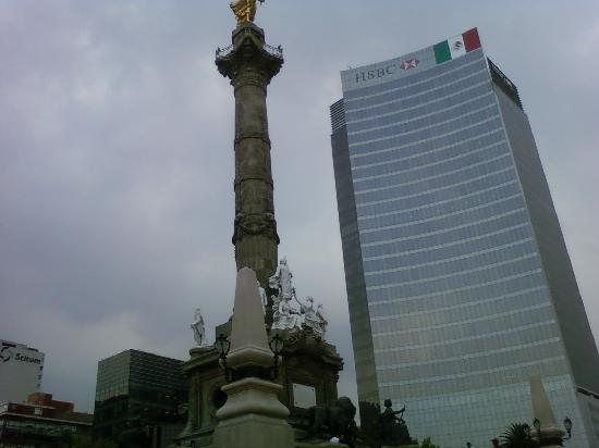 Mexico City, Mexico: Angel de la Independencia - Reforma