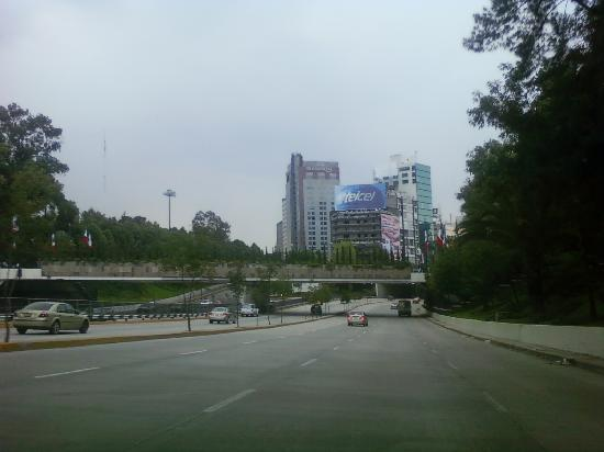 Città del Messico, Messico: Sometimes, there is no traffic in the City