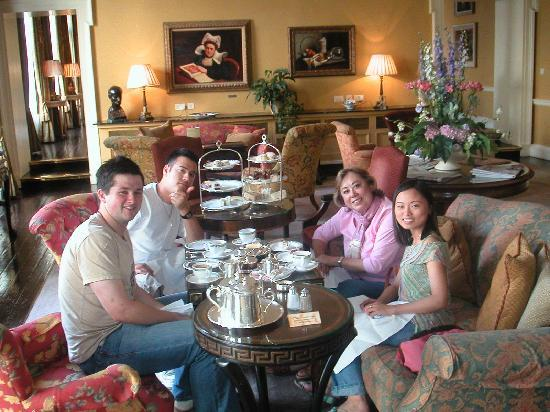 The Merrion Hotel: High Tea at the Hotel Merrion