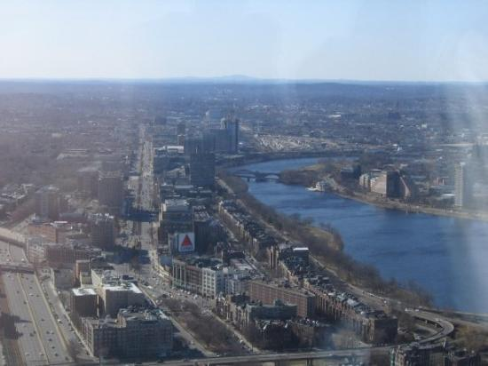 Kenmore Square and The Charles from the Pru!