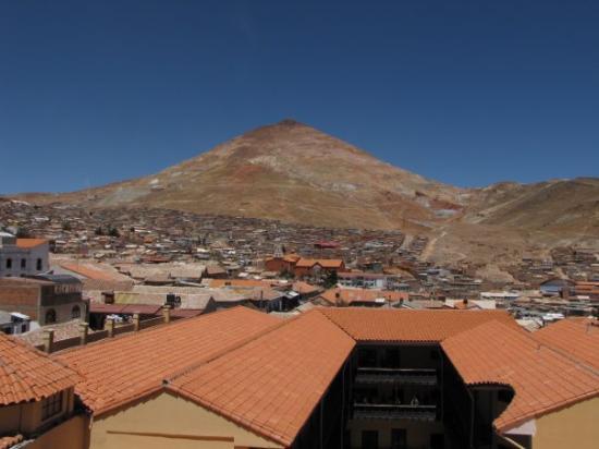 Cerro Rico, onde fica a mina de prata - Potosí