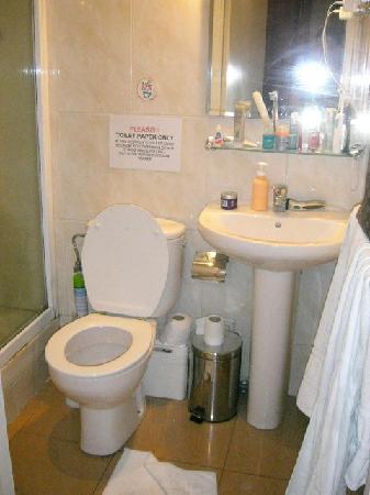 Hostal Absolut Centro: bathroom
