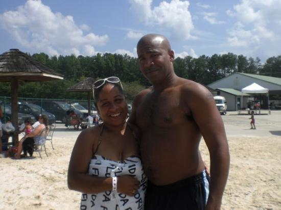 Atlanta Ga My Baby And I At A Man Made Beach In Atl Jul
