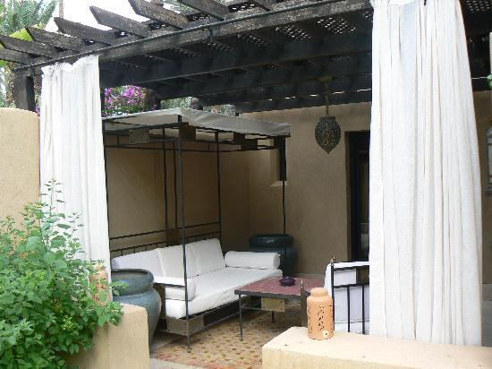 Club Med Marrakech le Riad : salon exterieur