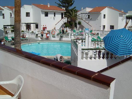 Villa Florida: on the balcony