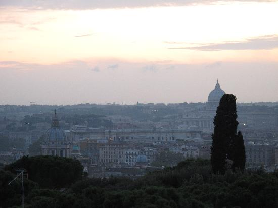 ‪‪Mirabelle‬: View from Mirabelle toward the Vatican‬