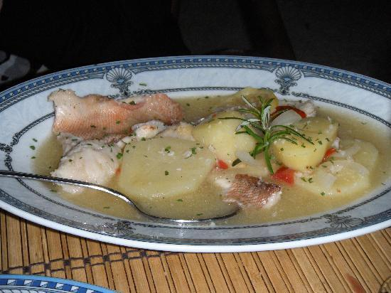 Aquarius: Fish with Winesauce and Potatoes