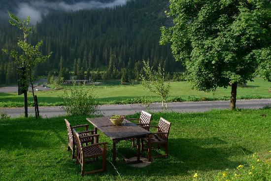 Gasthof & Hotel Rote Wand: Jardín