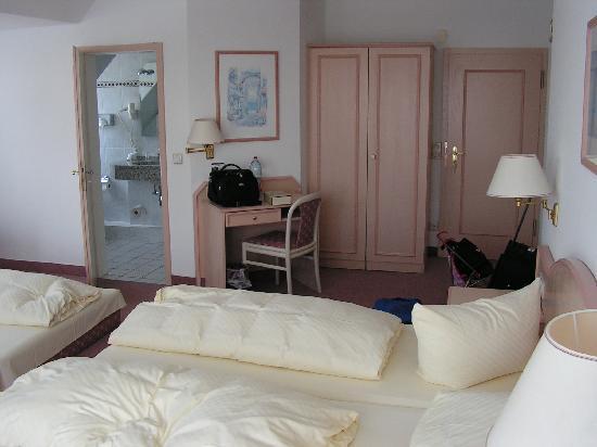 Hotel Friesenhof: unser Zimmer