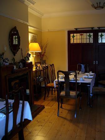 Tinode House: Il salotto della colazione