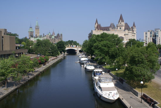 Оттава, Канада: Central Ottawa and Rideau canal