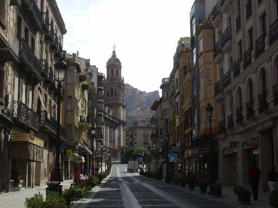 Hotel Presidente: Strade di Granada