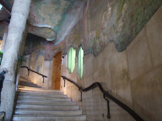 Interior of Casa Mila - Picture of Barcelona, Province of Barcelona ...