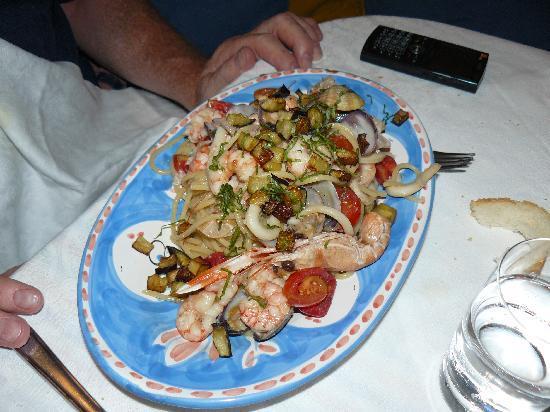 Ristorante 'Arcobalena' : Spaghetti Marinara - unbelievable