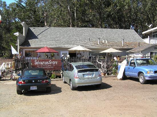 Sebastian General Store: The store from the parking lot