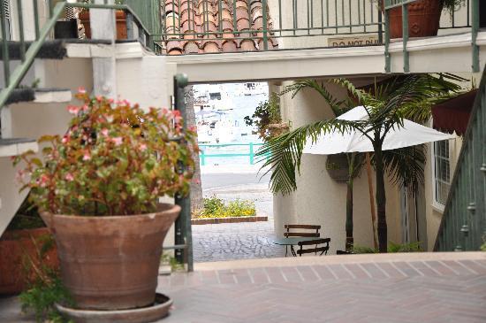 Portofino Hotel : You can see the beach!