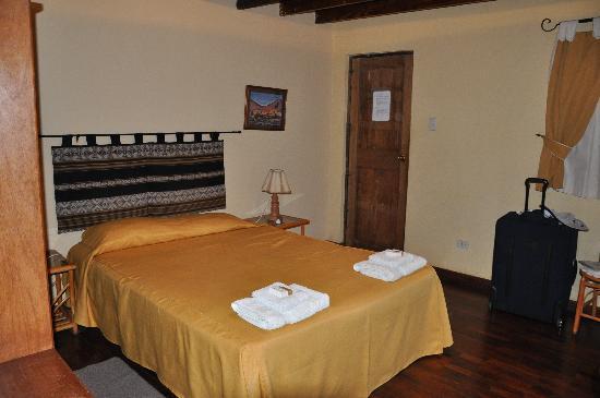 Hosteria Suiza: bedroom