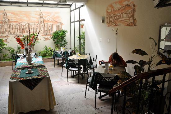 Mirador del Monasterio: breakfast area