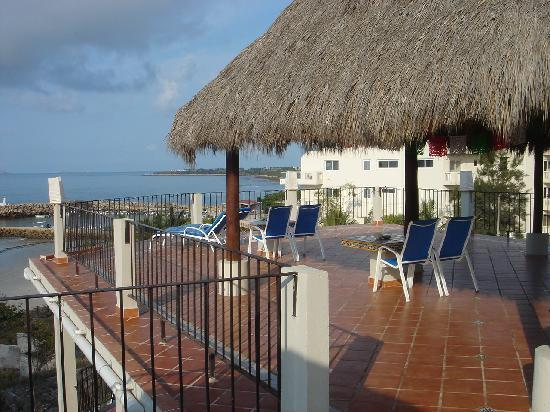 Hotel La Quinta del Sol: Deck on roof - for parties!