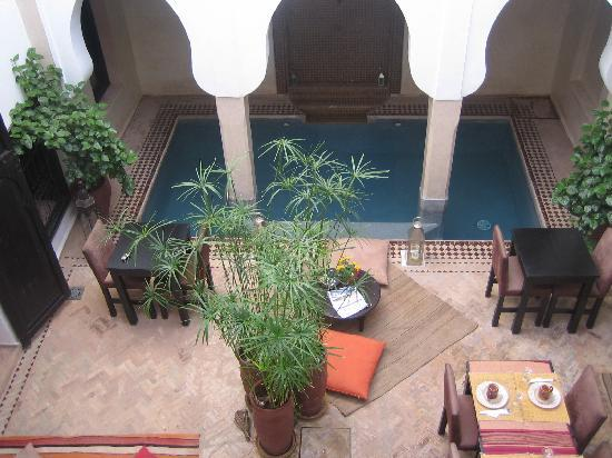 Riad ALAMANDA : Le patio