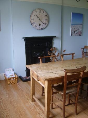 Lancercombe Farm - Bed & Breakfast: Dining Room