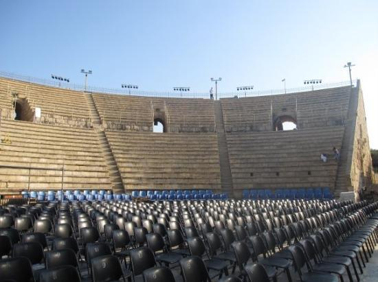Theatre at Caesarea National Park: Caesaria theater - ancient structure where many modern concerts are held