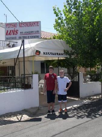 Casa do Forno: Pensao Luis - great food in Monfortinho