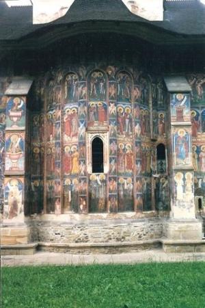 Vatra Moldovitei, Rumania: Moldoviţa Monastery   Mânăstirea Moldoviţa - Romania