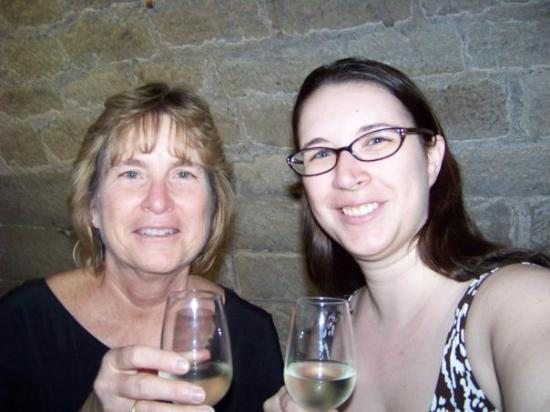 O Chateau - Wine Tasting: Mom and I at a wine tasting in Paris.  We learned a lot of cool stuff!